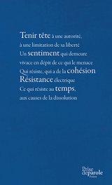 Titres Livre éditions Prise De Parole
